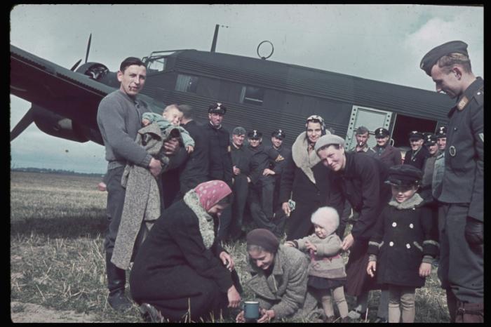 Польские фермеры и крестьяне. Польша, 1939 год.