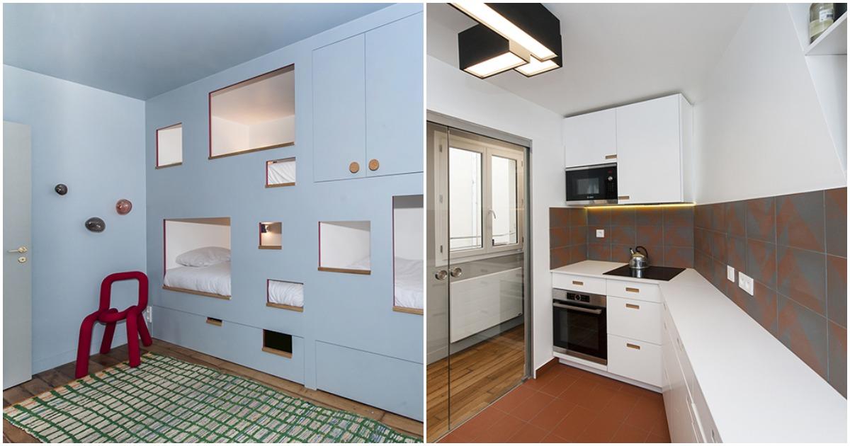 Стильная и практичная идея для малогабаритных квартир