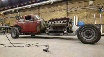 Древний Volvo получил 38,8-литровый мотор