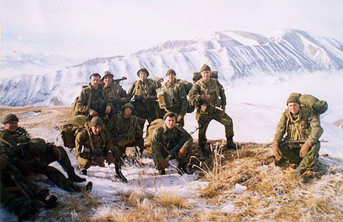 Памяти бойцов 6 роты