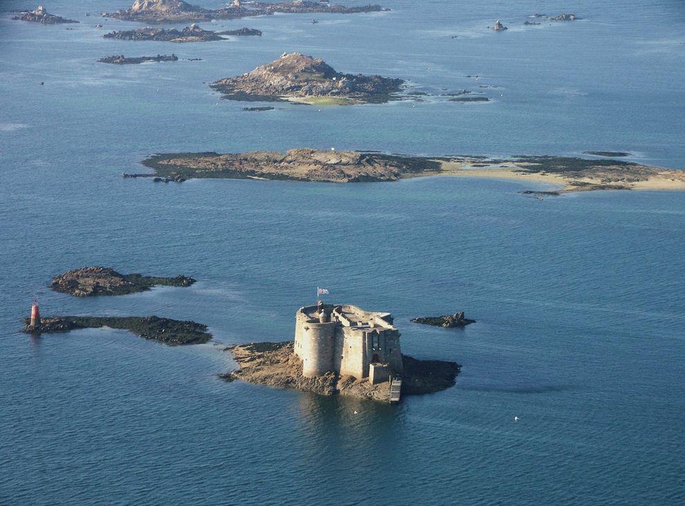 Красота Франции с высоты мир,путешествия,страны,туризм