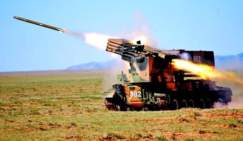 Сирийская армия обрушила «Град» на головы турков