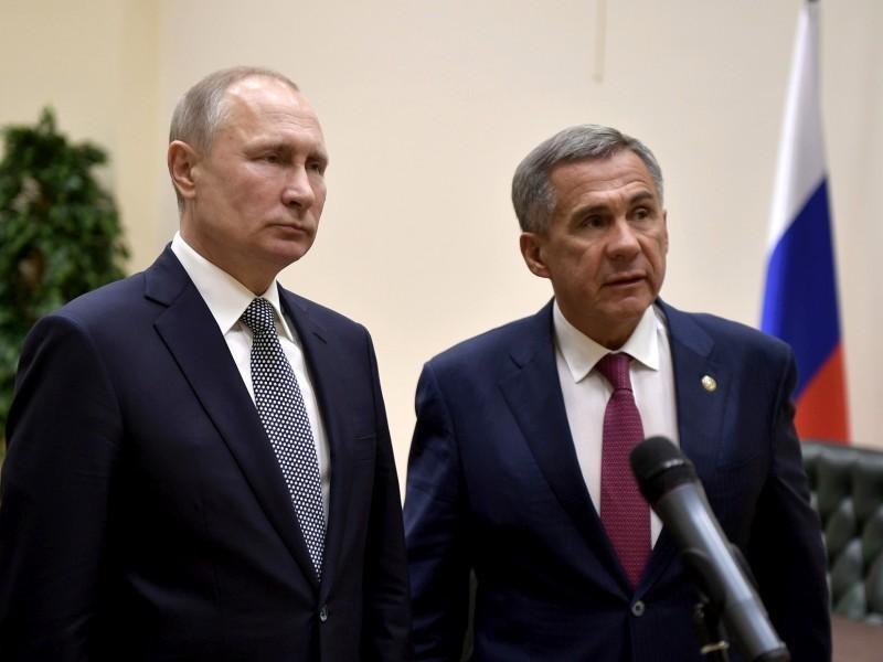 Совещание в Казани: какие документы сотрудники президента Татарстана могли уничтожить перед визитом Путина история,россия