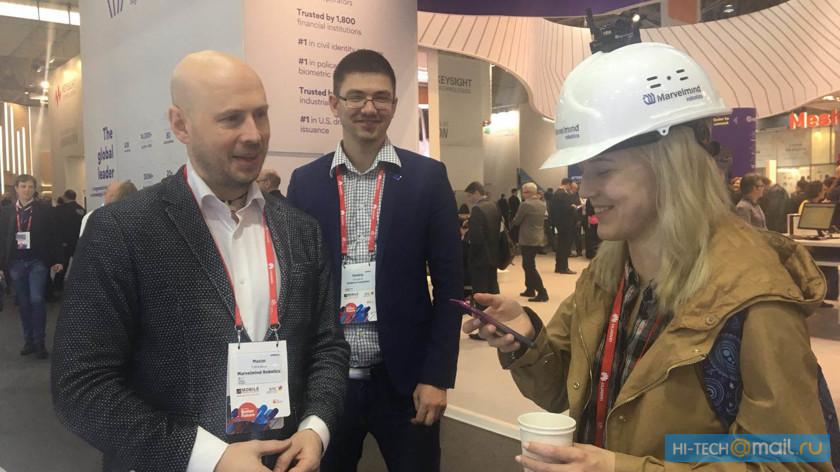 Телефон-антишпион и VR-перчатка: Российские технологии на мировой выставке MWC 2018