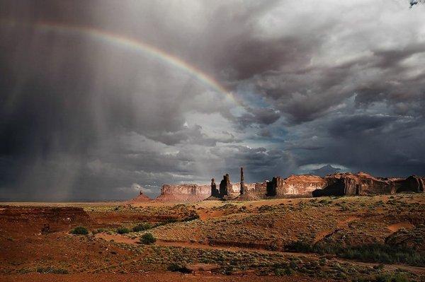 Monument Valley — красивый парк (20 фото)