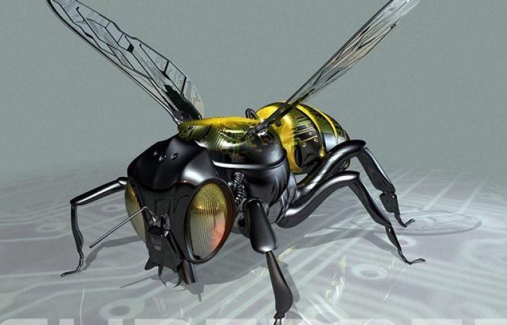 Роботов-пчел для опыления планируют выпускать в США