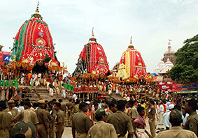 с 9 по 14 июля Ратха-Ятра в Индии – Колесница Бога Джаганнатха