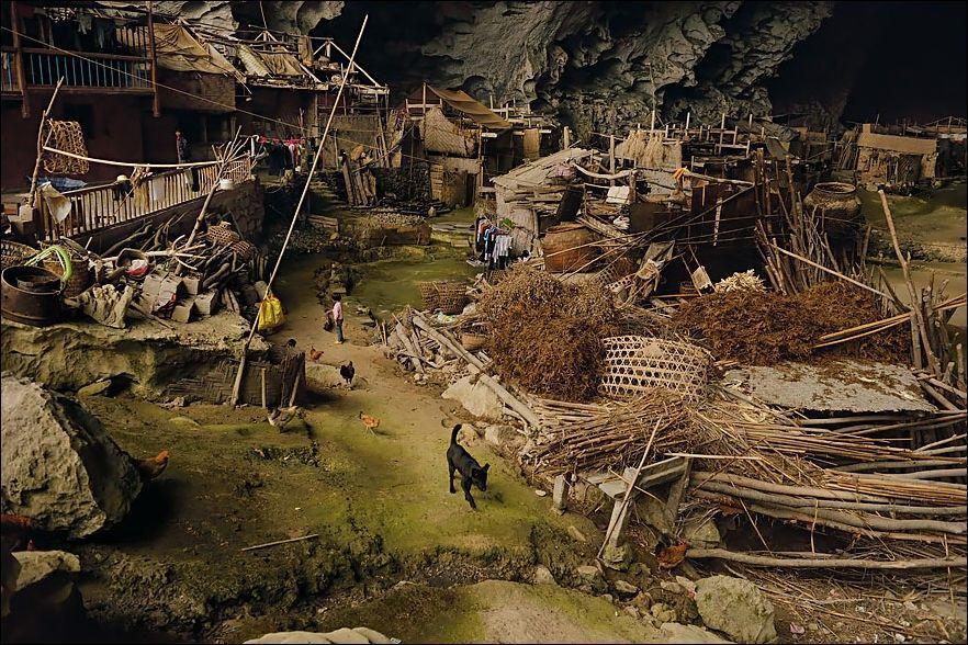 Пещерные жители: современная китайская деревня в пещере