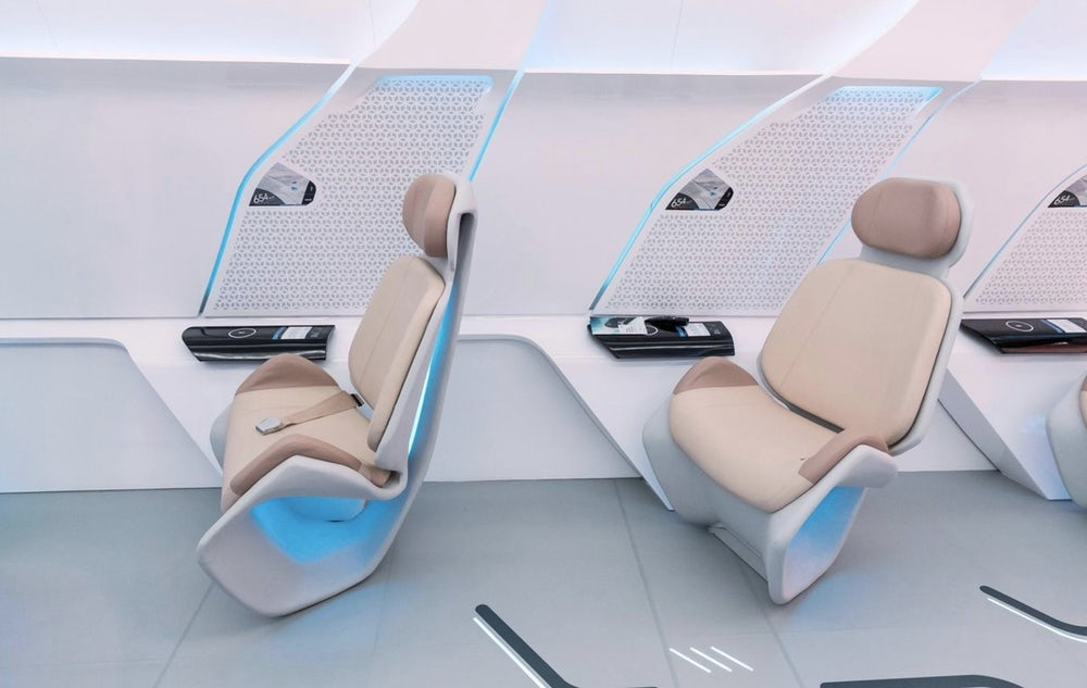 Virgin Hyperloop One показала пассажирскую капсулу в Дубае