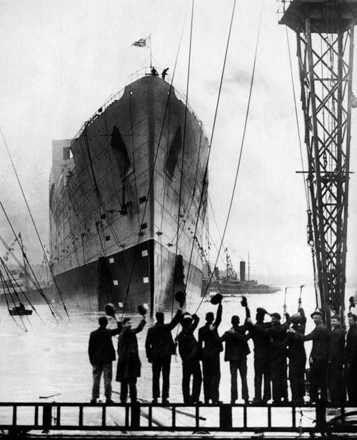 """Титаник"", 1912 г. история, классика, фото"