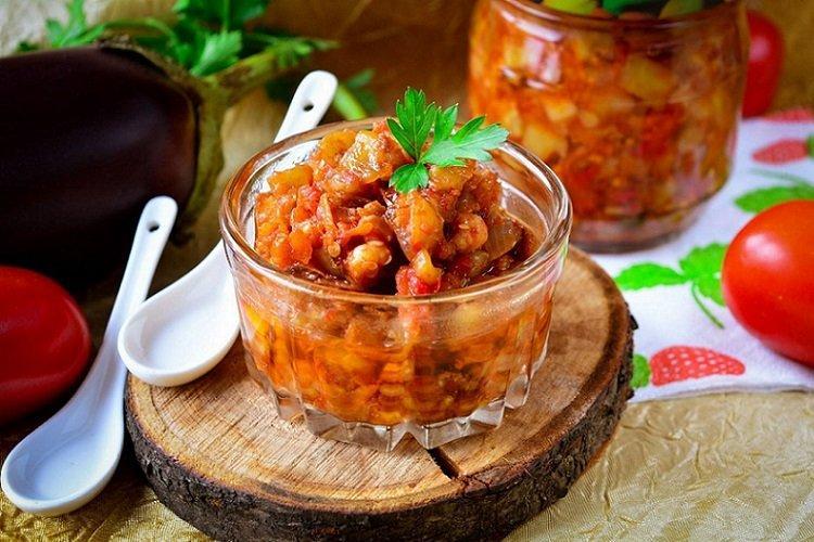 20 рецептов вкуснейшей икры из баклажанов закуски,овощные блюда