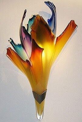 Красота из стекла. Просто Гениально! handmake,поделки своими руками,разное,стекло и керамика,украшения