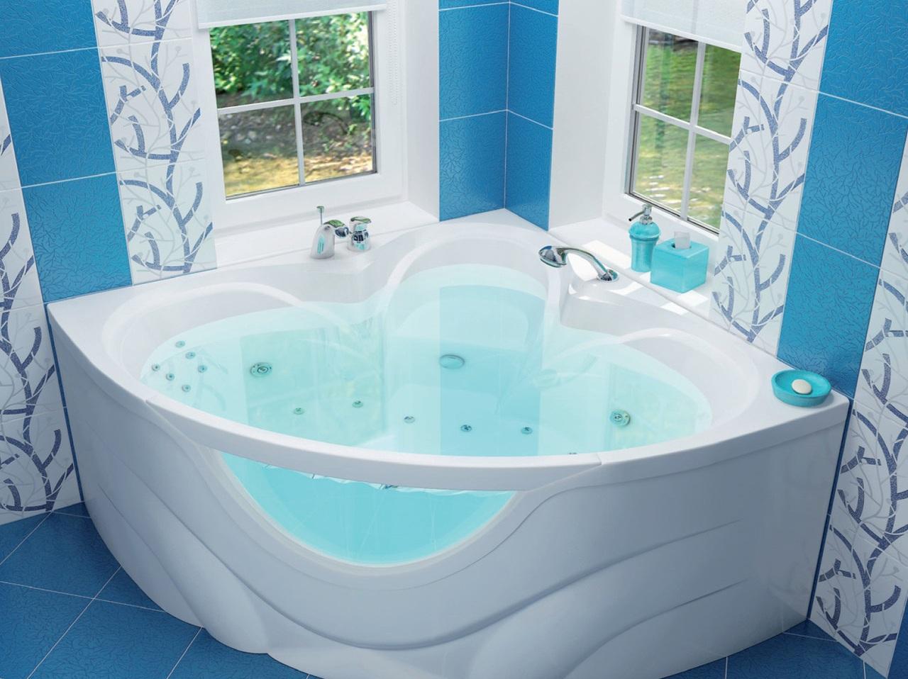 Как выбрать угловую ванную