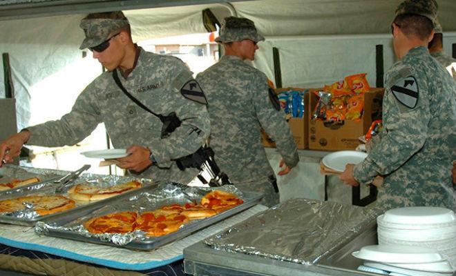 Столовая солдат США: что едят военные на обед армия,еда,питание,Пространство,столовая,США