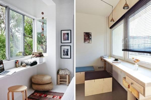 Рабочий стол подоконник - фото вариантов