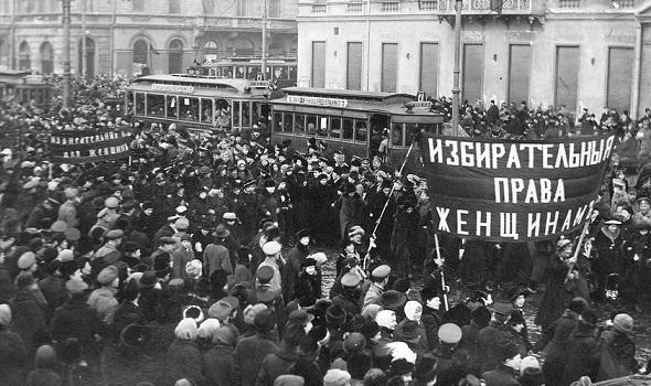 Ярость женщин-текстильщиц: кто действительно начал Февральскую революцию