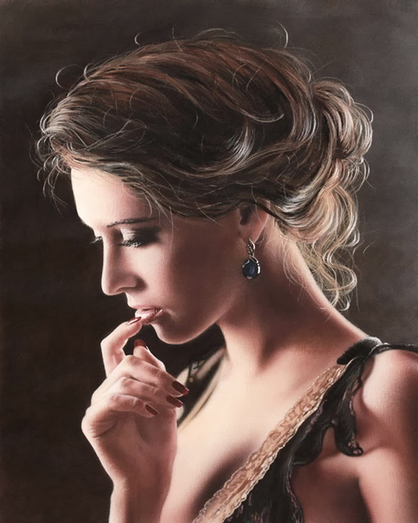 Нежность женщины... Шведский художник Johannes Wessmark