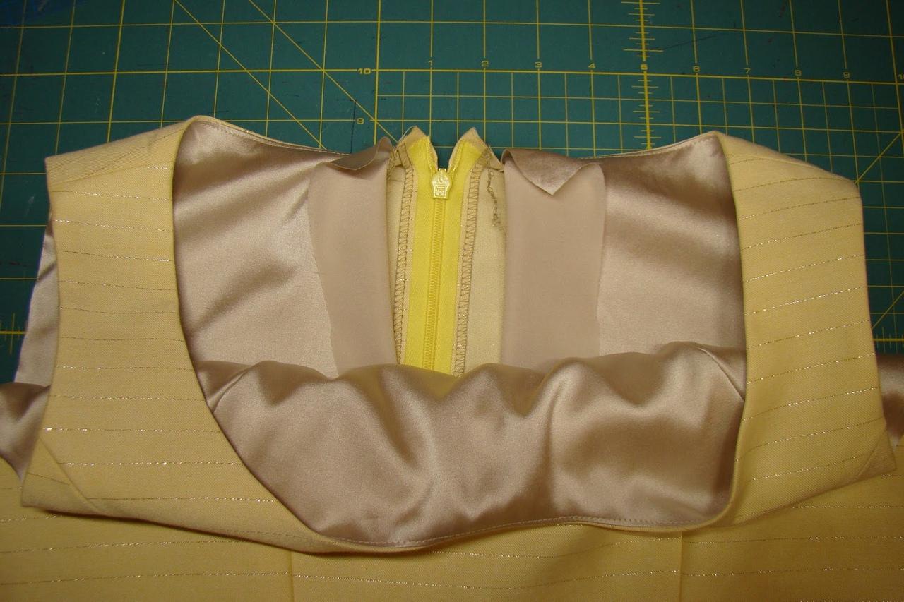 Техники шитья на подкладе 1