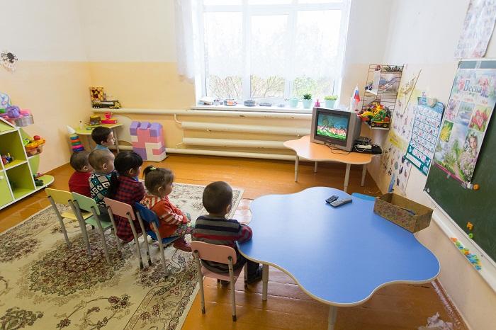 В садике одна группа — дошкольная, которую посещают восемь детей (Султаново, Челябинская область).