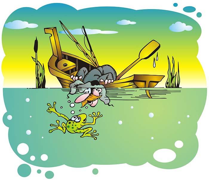 Картинки, прикольные рисунки на тему рыбалки
