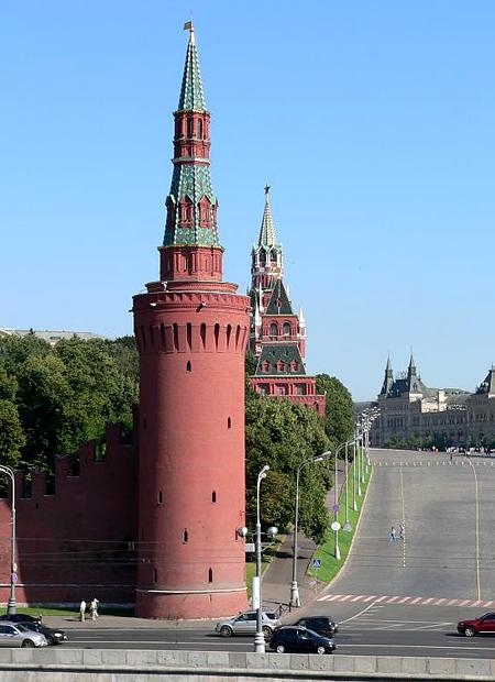 Беклемишевская башня Московского Кремля