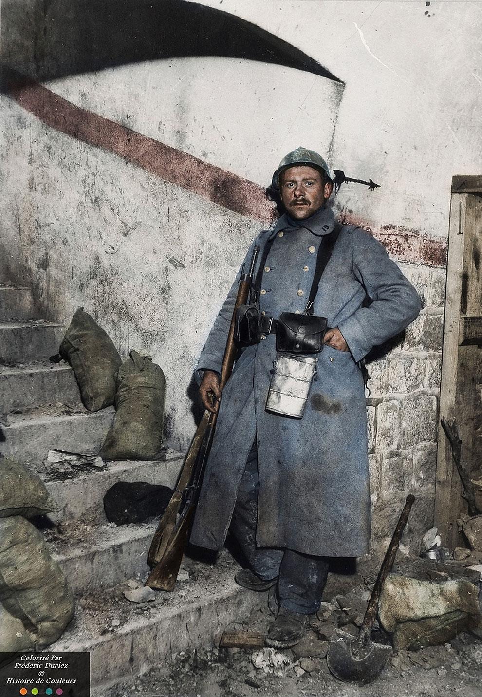 Цветные снимки Первой мировой войны, которые сделаны как будто вчера жизнь,история,курьезы,приколы,факты