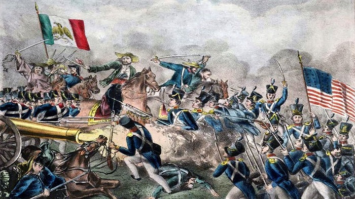 С мексиканцами у американцев были разногласия и до Трампа. Например, в 1846 году они воевали друг с другом.