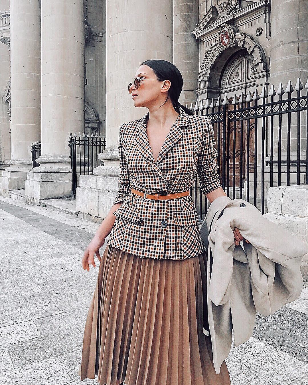 модные образы для деловых женщин осени 2019 фото 3