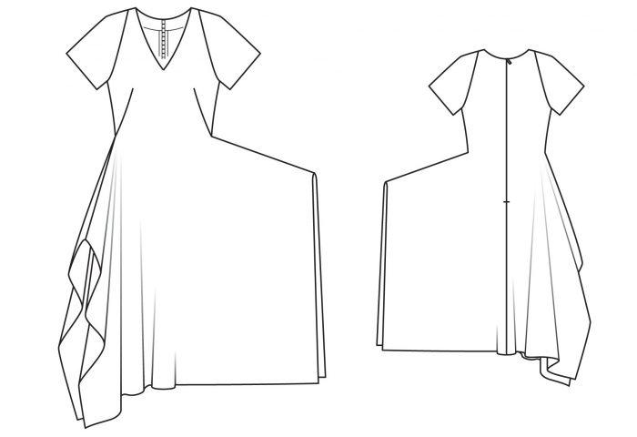 d3d3b8968966 Бохо стиль: выкройки платьев, юбок, сарафанов, туники, блузы, кардигана,  брюк для полных женщин