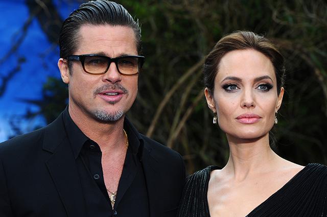 """Инсайдер рассказал, как Анджелина Джоли отреагировала на победу Брэда Питта над ней в суде: """"Она никогда его не простит"""" Звездные пары"""