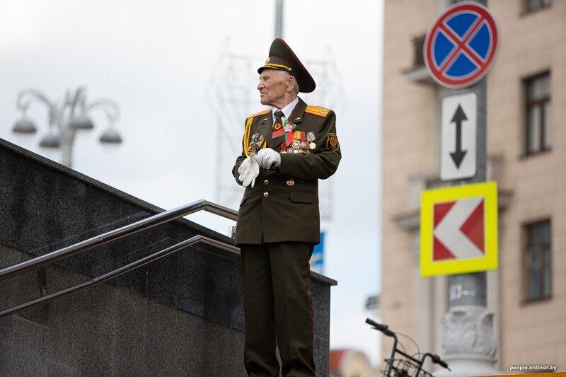 Как отметили 9 мая в Минске