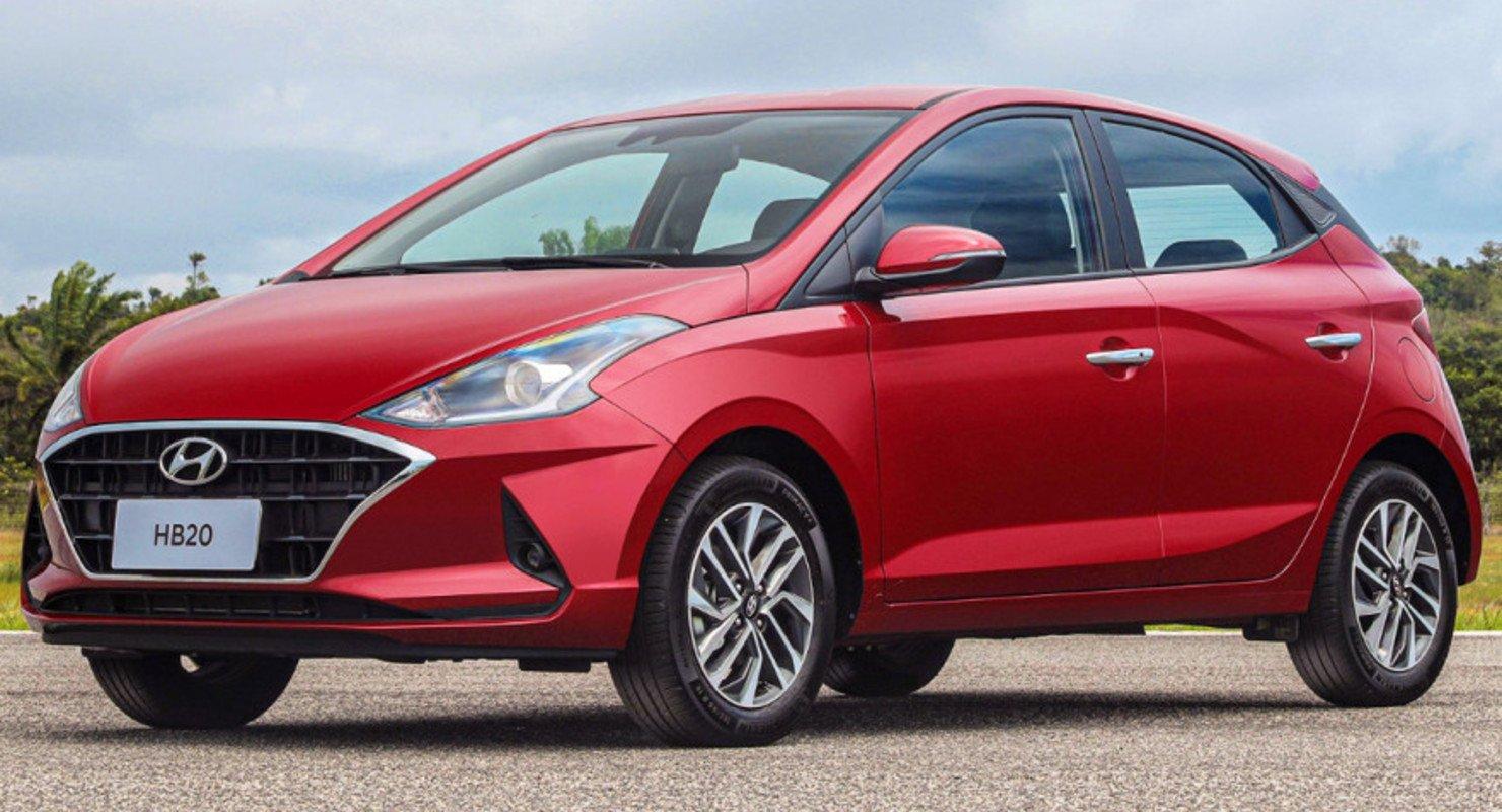 Недорогой хэтчбек и седан Hyundai HB20: второе поколение Автомобили