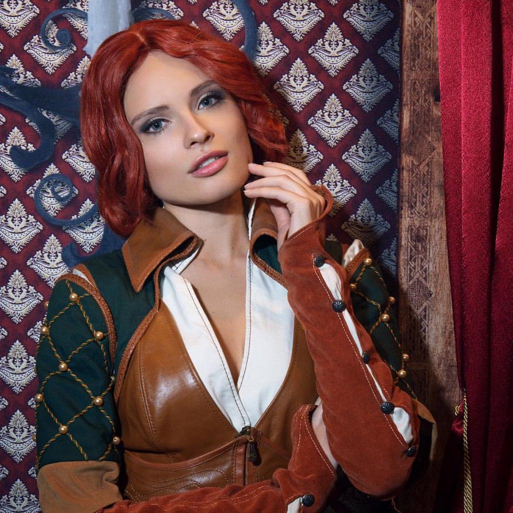 Таинственная Трисс Меригольд с презентации The Witcher 3: Wild Hunt Игры