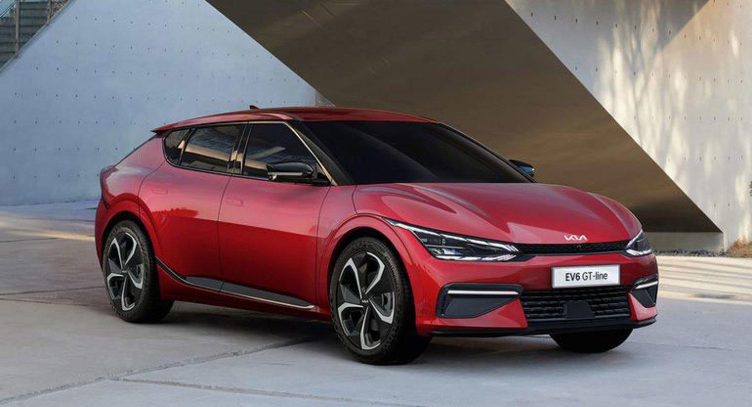 Новый Kia EV6 2021 года сможет проезжать до 528 км Автомобили