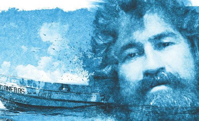 438 дней один в лодке посреди океана выживание