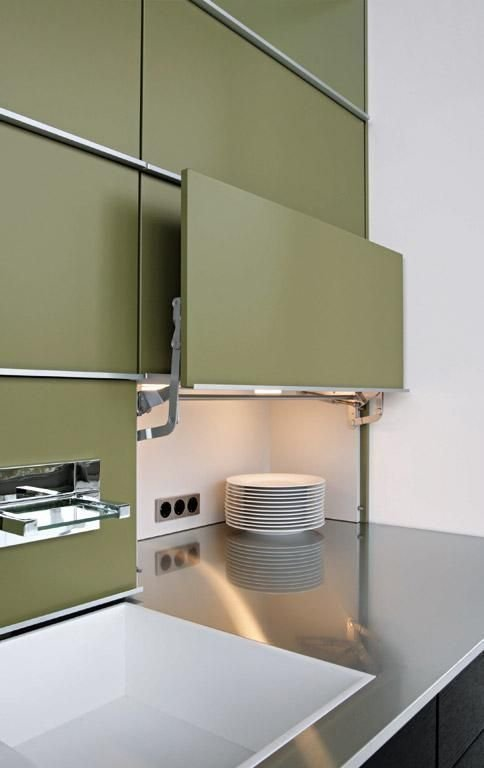 20. Сплошные шкафы - это не приговор! Всегда можно найти стильное решение дизайн, идеи дизайна, интерьер, кухня, маленькая кухня