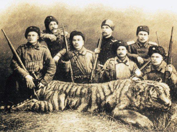 Уссурийские казаки, защитник…