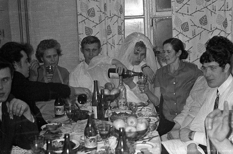 Советские свадьбы: лица наших предков просто светятся благостью Живое,история,свадьбы,Смешное,СССР,фоторепортаж