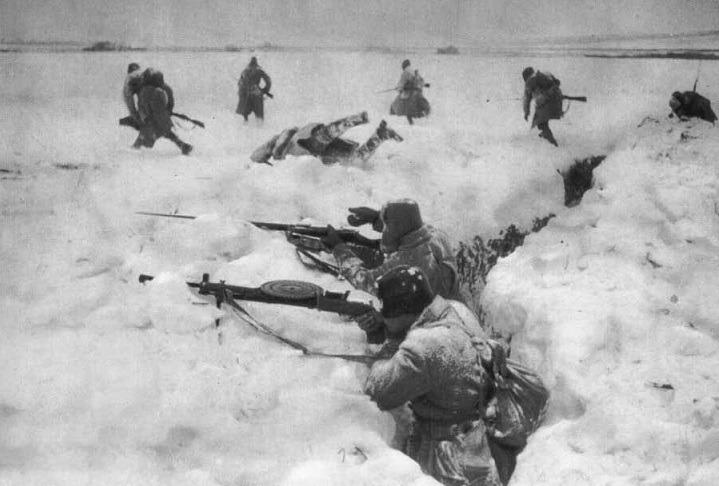 Как Красная Армия победила немцев на Куликовом поле в 1941 году