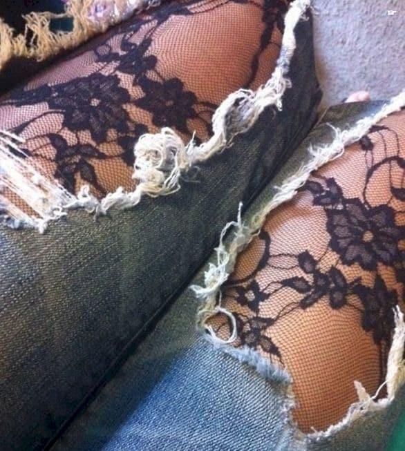 Новая жизнь старых джинсов одежда, ремонт, своими руками, хитрости