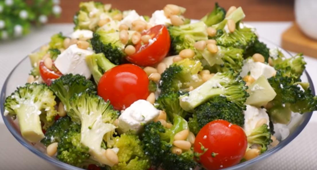 Новогодний салатик без майонеза