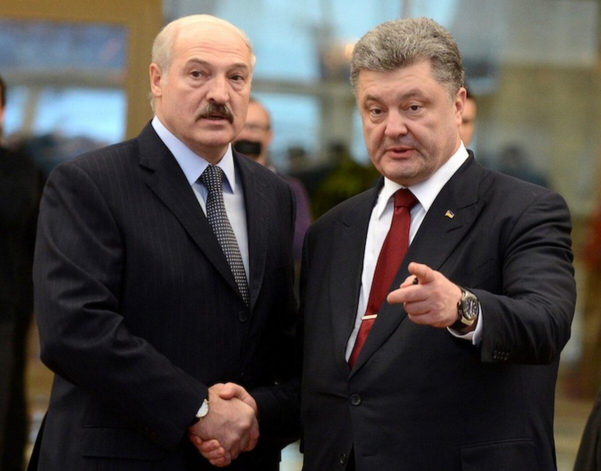 """Лукашенко """"сливал"""" Порошенко данные о перемещении российских войск Политика"""