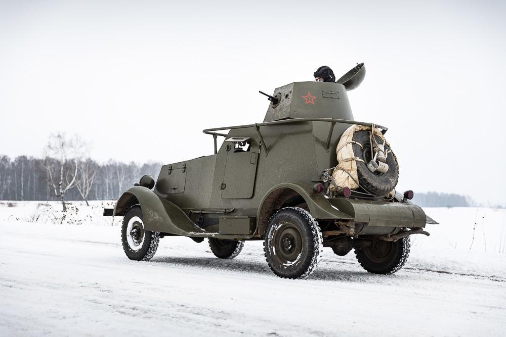 Тестируем советский БА-20: автомобиль, который разгромил японцев