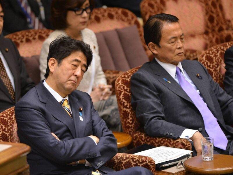 18. Спящие во время заседания или совещания чиновники Их нравы, интересно, традиции, фото, япония