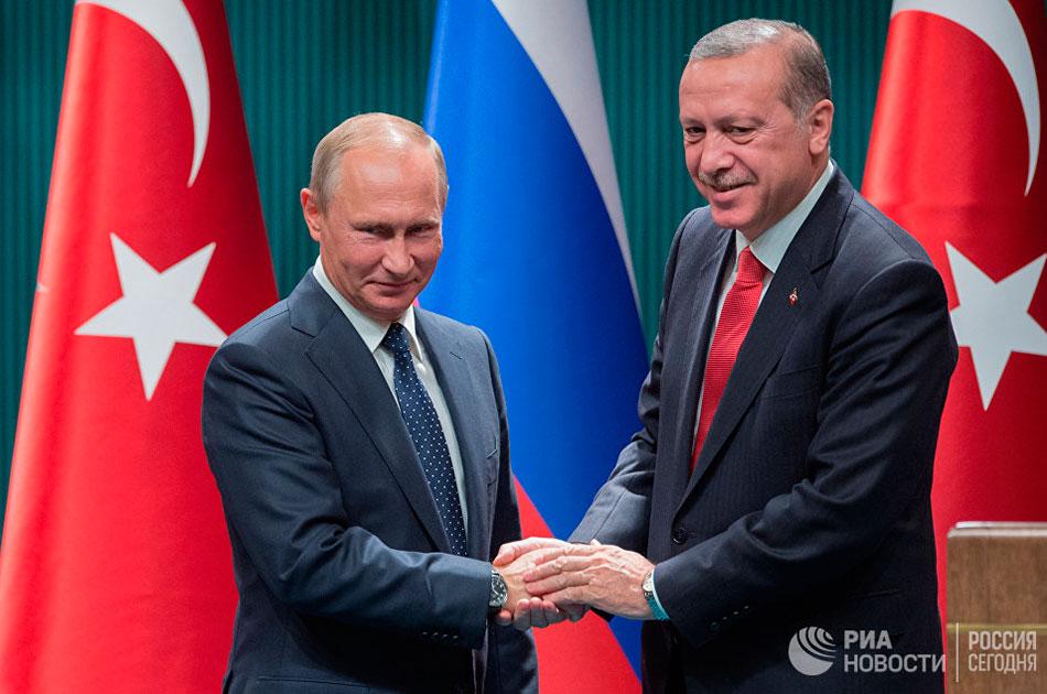 Друг Путин и друг Эрдоган