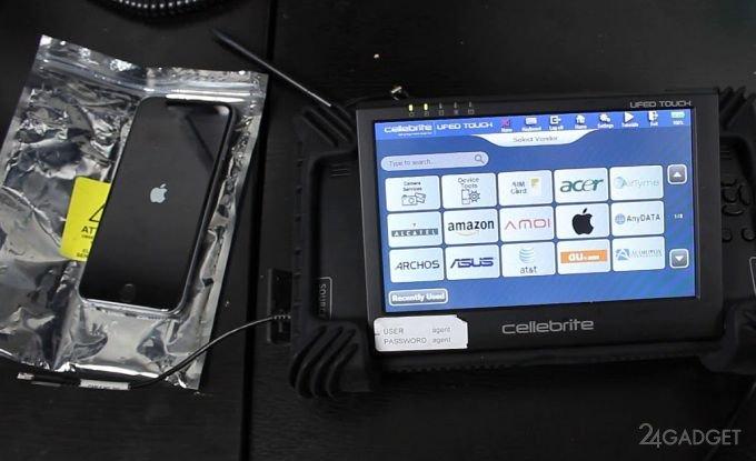 Представлено новое устройство для взлома iPhone правоохранителями apple,смартфоны,технологии
