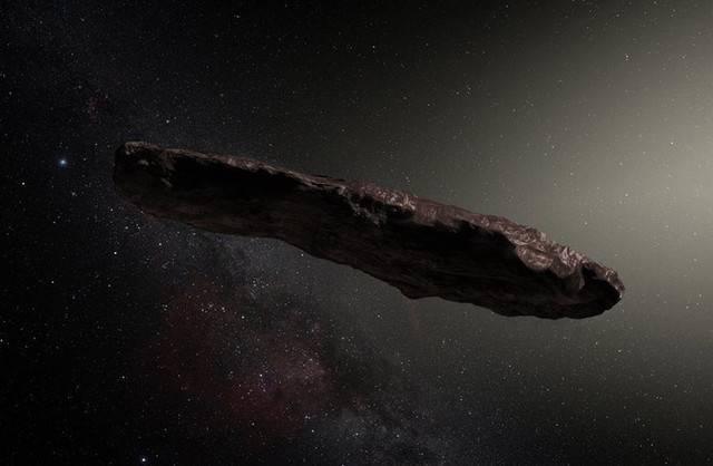 Странный астероид Оумуамуа м…