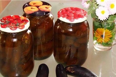 Необычное варенье из баклажанов с орехами на зиму