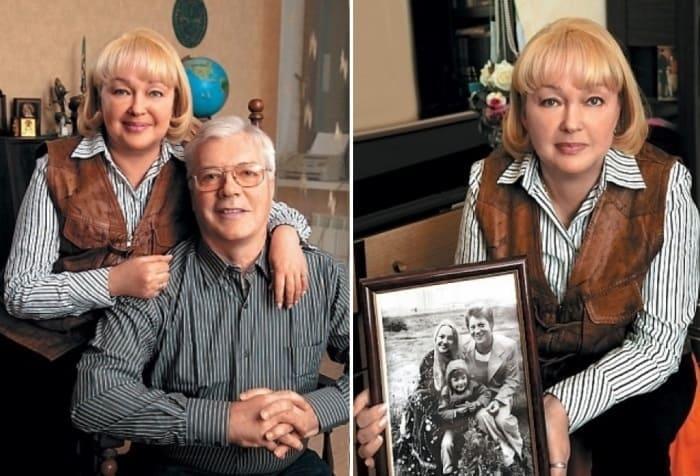 Актер с женой, актрисой Натальей Гвоздиковой | Фото: tele.ru