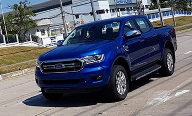 Появились шпионские фото нового Ford Ranger без камуфляжа